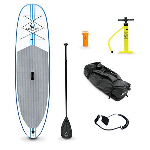 Legacy Inflatable Sup Stand Up Paddle Board Isup & Accessories - 10'6