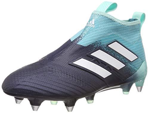 adidas Herren ACE 17+ Purecontrol SG Fußballschuhe, Blau dunkelblau/türkis, 42 EU
