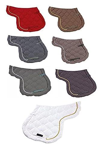 HKM Gently Shock Absorbent Braid Adge Fleece Line Soft Padded Riding Numnah