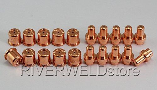C1521 (PR0016) Plasma elektrode C1304 (PD 0088-10) Schneiddüse 1,0 für CEBORA CP-50 Trafimet CB50 plasma Schneider 20 Stück