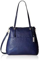 Caprese Fanny Women's Tote Bag (Navy Blue)