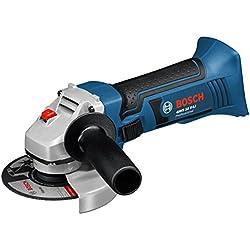 Bosch Professional GWS 18 V-LI Meuleuse d'angle (Outil nu, sans batterie ni chargeur)