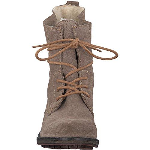 Tamaris Damenschuhe 1-1-26791-29 Damen Stiefel, Boots, Damen Stiefeletten, Herbstschuhe & Winterschuhe für modebewusste Frau Taupe