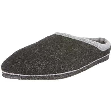 Kitz - Pichler Bio Fit, Unisex-Erwachsene Pantoffeln, Grau (kohle 2284), 36 EU