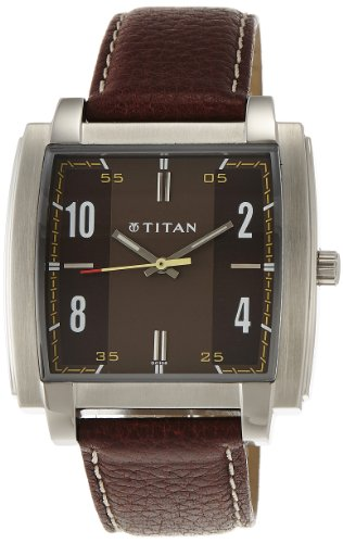 Titan Youth Analog Multi- Colour Dial Men's Watch - NE1586SL03 image