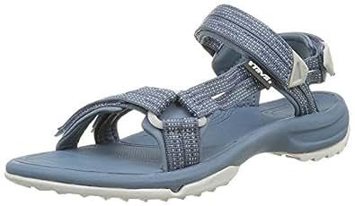 teva damen w terra fi lite sandalen trekking wanderschuhe blau schuhe handtaschen. Black Bedroom Furniture Sets. Home Design Ideas
