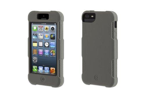 Griffin-Survivior GB35676 Back Case - Survivor Skin - Apple iPhone 5/5S/5SE - Lila grau