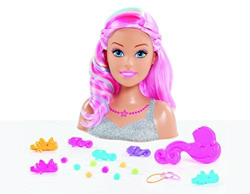 Barbie- Dreamtopia Tête à coiffer, BAR18
