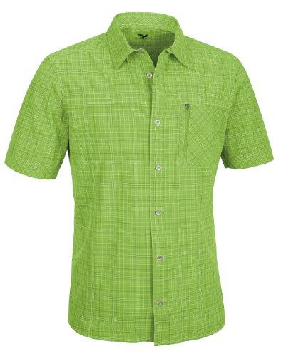 SALEWA isortoq dry m chemise à manches longues pour homme Vert - Vert à carreaux