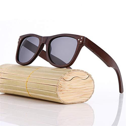 DAIYSNAFDN Mode Bambus Sonnenbrille Männer Holz Sonnenbrille Original Holz Sonnenbrille Same Pictures 6