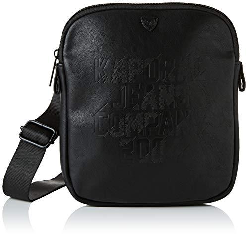 Kaporal homme Yunni Sac porte main Noir (Black),2x21x18...