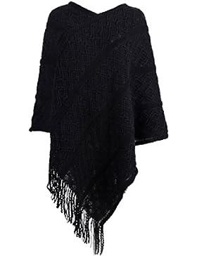 SAMGOO - Poncho - capa - para mujer