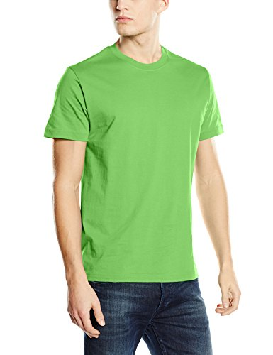 Stedman Apparel Herren Regular Fit T-Shirt Green (Kiwi)