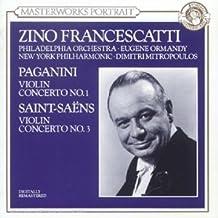 Concerto pour violon n°1 / Concerto pour violon n°3