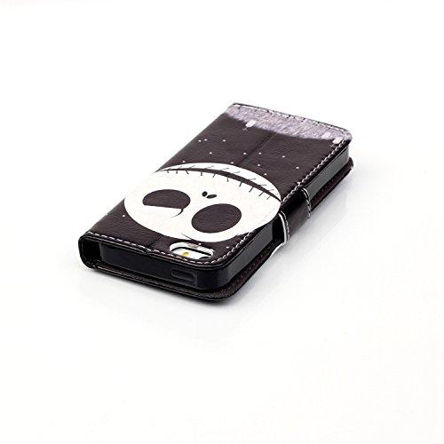 Coque pour Apple iPhone 6 Plus/6s Plus(5,5 Zoll),Housse en cuir pour Apple iPhone 6 Plus/6s Plus(5,5 Zoll),Ecoway Colorful imprimé étui en cuir PU Cuir Flip Magnétique Portefeuille Etui Housse de Prot étoile Kito
