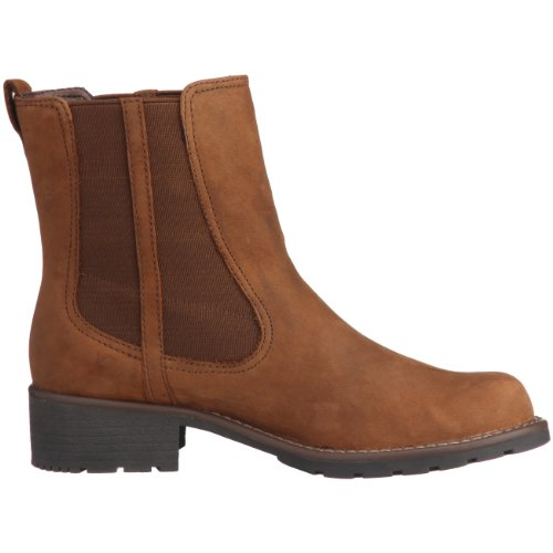 Clarks Orinoco Club, Stivali Chelsea Donna Marrone (Brown Snuff)