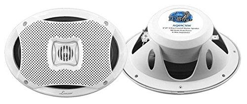 Pyle Marine Lautsprecher (500 Watt, 2-Wege) weiß