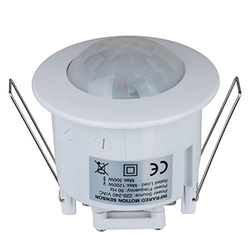 PIR Sensor Movimiento Interruptor luz empotrable 360