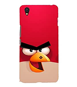 Vizagbeats Angry Bird Back Case Cover for ONEPLUS X