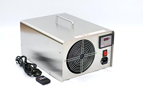 Profi Ozongenerator 60000mg/h 60g/h Ozonisator Ozongerät Ozon Luftreiniger NP60+ mit Fernbedienung für Auto und Wohnräume