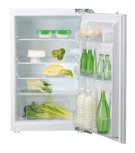 Bauknecht KRIE 500 Einbau-Kühlschrank / A++ / 95 kWh/Jahr / Höhe 87,5 cm / Nutzinhalt 136 L / 39db / LED-Licht / Abtauautomatik / Einfache Festtürmontage SetmoQuick / Nische 88