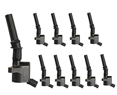 Complete Ignition Coils For Ford Lincoln 4.6L 5.4L 6.8L V8