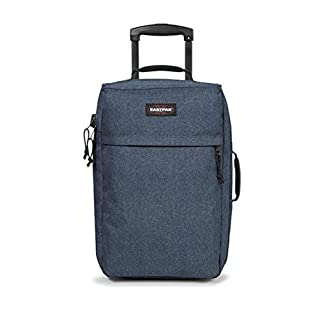 Eastpak Traffik Light Maleta, Diseño Double Denim, 33 Litros, Color Azul