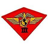 eagleemblems patch-usmc, 03RD Skihelm Airwing (9,5cm)