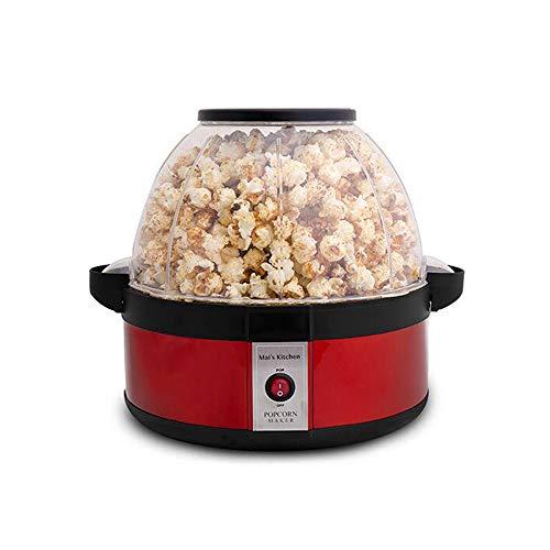 Mini Haushalts Popcorn Maschine, Popcorn Maker Portable Popcorn Maschine Snack Maker Geschenk für Kinder Mädchen Frau Party Supplies