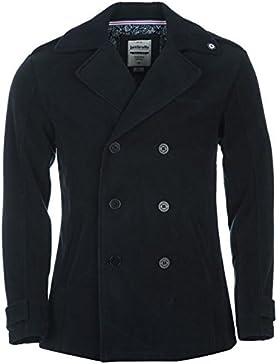 Lambretta Reef chaqueta para hombre azul marino chaquetas abrigos Outerwear, azul marino, large