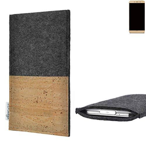 flat.design vegane Handy Hülle Evora für Allview X4 Soul Lite Kartenfach Kork Schutz Tasche handgemacht fair vegan