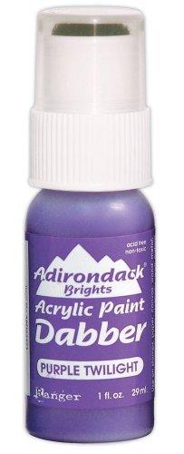 Ranger ABD-22473 Adirondack Bright Acrylic Paint Dabber, 1-Ounce, Purple Twilight by Ranger Products -