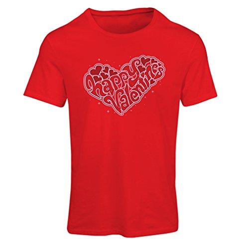 """T-shirt femme Joyeuse Saint-Valentin - """"Mon amour"""" cadeaux, tenues sexy Rouge Multicolore"""