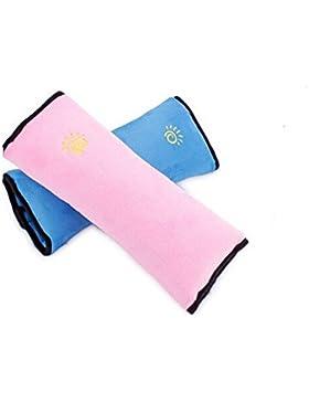 Cojín de cinturón de seguridad Almohada desmontable práctica y confortable Auto coche protección hombro cuello...