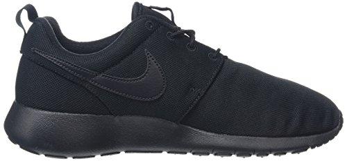 Nike Roshe One (Gs), Chaussures de Running Garçon Noir (Schwarz)