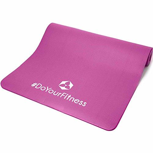 #XXL Fitnessmatte »Ashanti« / dick und weich, ideal für Pilates, Gymnastik und Yoga, Maße: 190 x 100 x 1,0cm, pink#
