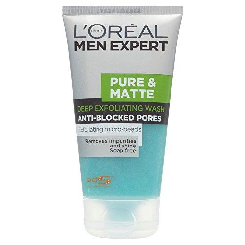 loreal-paris-men-expert-pure-matte-deep-exfoliating-gel-wash-150ml-pack-of-6
