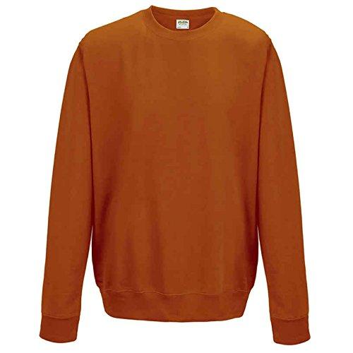 AWDis Herren Modern Sweatshirt Gr. S, burnt orange (Sweatshirt Burnt Orange Hoody)