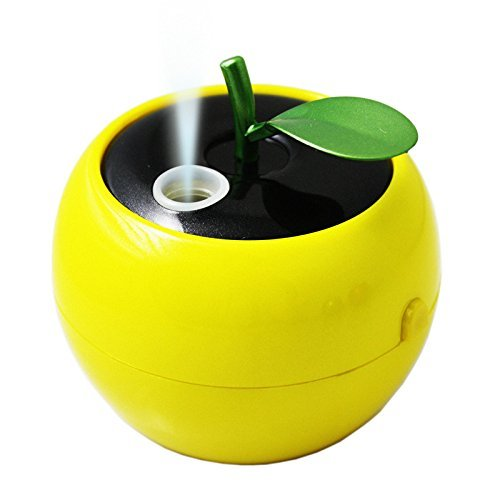 DIDIDD Humidificateur de voiture mini humidificateur eau de bureau usb fogger,Jaune