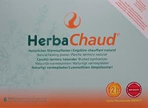2 patchs chauffants Herba Chaud Lot de 6