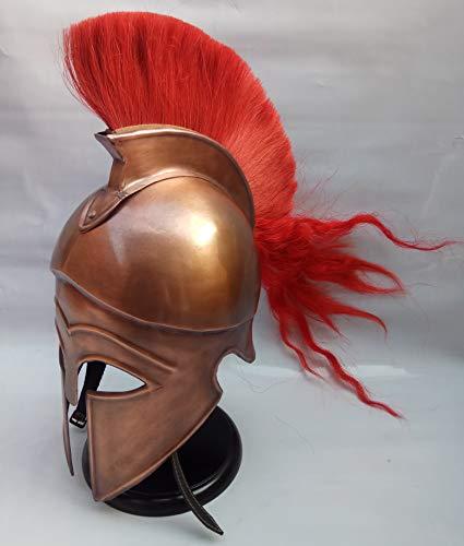 Mittelalter Roman Corinthian Helm Armour King Leonidas Griechisch Spartan Halloween Helm