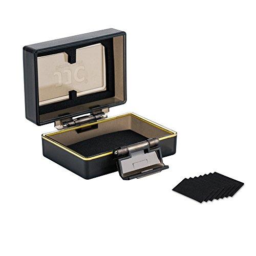 Galleria fotografica JJC multi-funzione di batteria e memoria per batteria 1x e 2x SD/SDHC