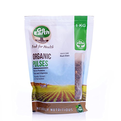 Go Earth Organic Kala Chana 1 kg