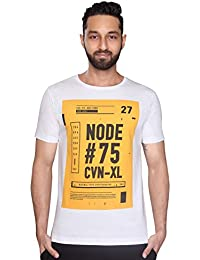 NODE - Minimal Typo Cryptography T-Shirt