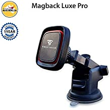 Tech Sense Lab 360 Degree Rotating Magnetic Car Mobile Phone Holder for All Smartphones (Magback Luxe Pro)
