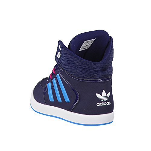 Adidas Dropstep K W chaussures bleu rouge blanc