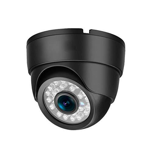 Hungrybubble Überwachungskamera 1080P Hauben-Kamera-Innen- / im Freien verdrahtete Überwachungskamera H.265 Onvif mit IR-Nachtsicht-Bewegungserkennung (Focal Length : 6mm, Pixel : 5.0MP)