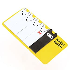 Big Bargain Cute Rabbit Post-it Note Bookmarks Sticky point it Sticker Note Pad Flags Memo