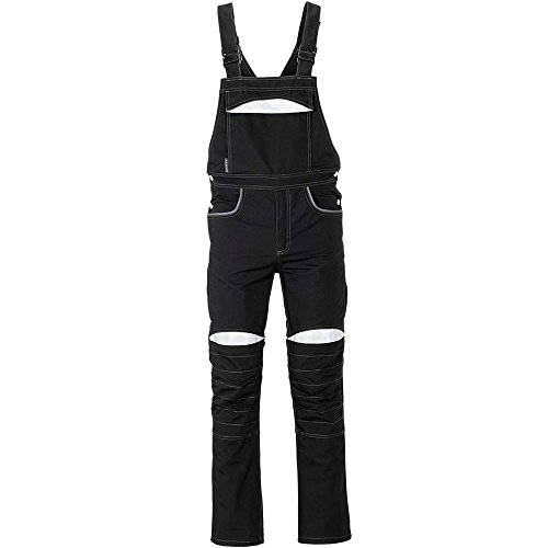 Duraline Arbeitskleidung Latzhose schwarz/grau 27