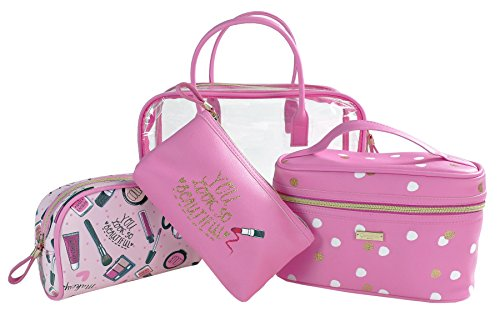 Camomille milano-set Sac avec 3 enveloppes D. PINK SWEET Make Up